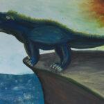 kõige hirmuäratavam draakon (juuniorid) – Anastasia Pidvõsotski, 10-aastane